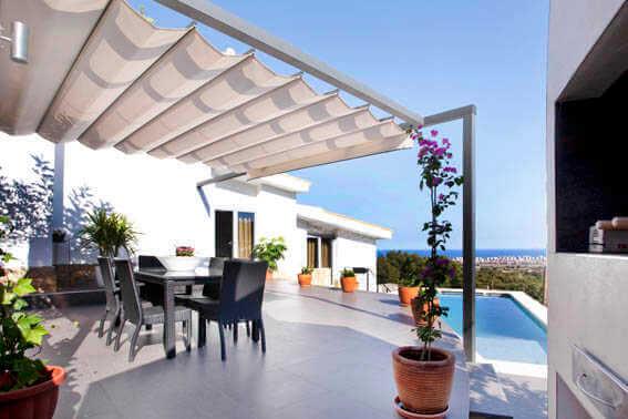 Coverlam-Feinsteinzeug-Böden auf Terrassen