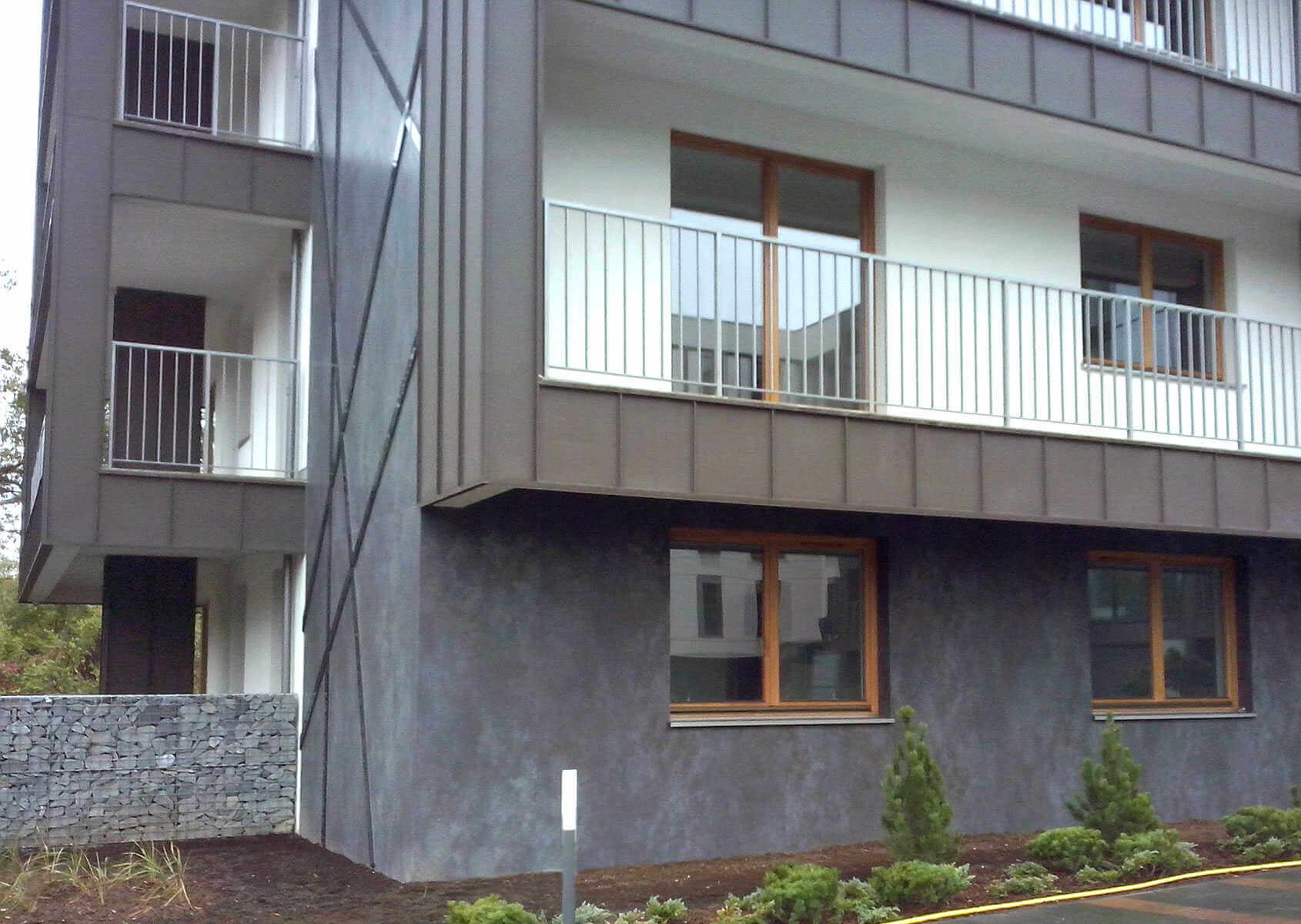 Дизайн фасадов с использованием керамогранита Coverlam