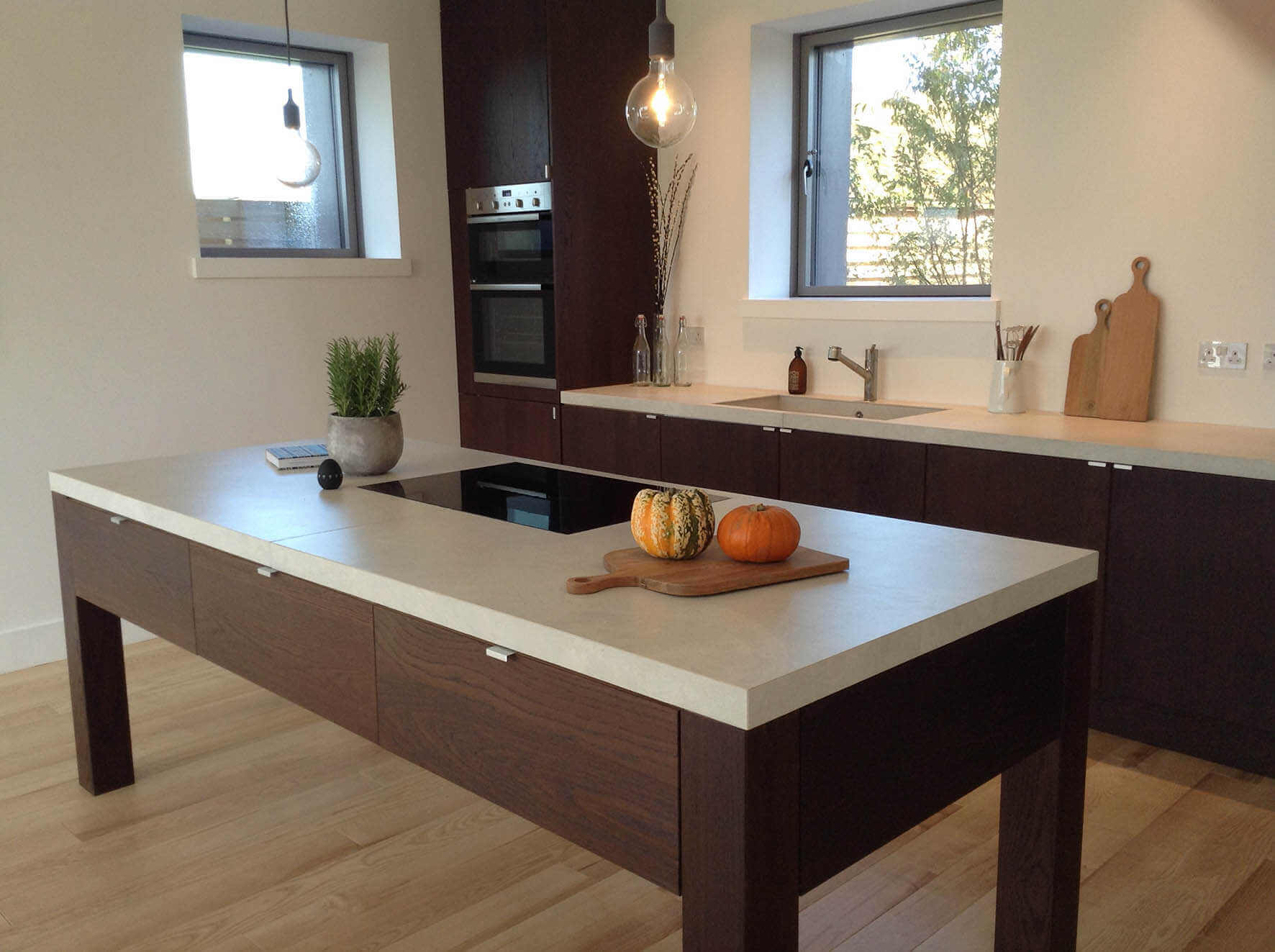 Top da cucina in gres porcellanato Coverlam