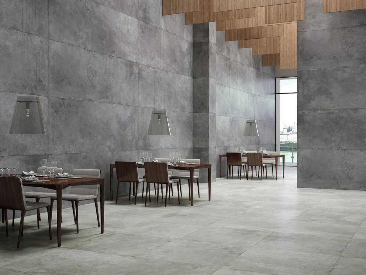 772 ambiente restaurante coverlam tempo antracita 100×300 y gris 100×100 web